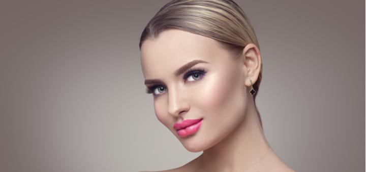 Скидка до 51% на увеличение губ филлерами и коррекцию носогубных складок и морщин в «F&B New»