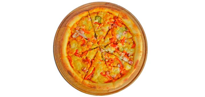 Скидка 40% на все меню пиццы в кафе-кальянной «Garden»