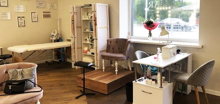 Моделирование, коррекция и окрашивание бровей и ресниц в студии красоты «Daarbeauty»
