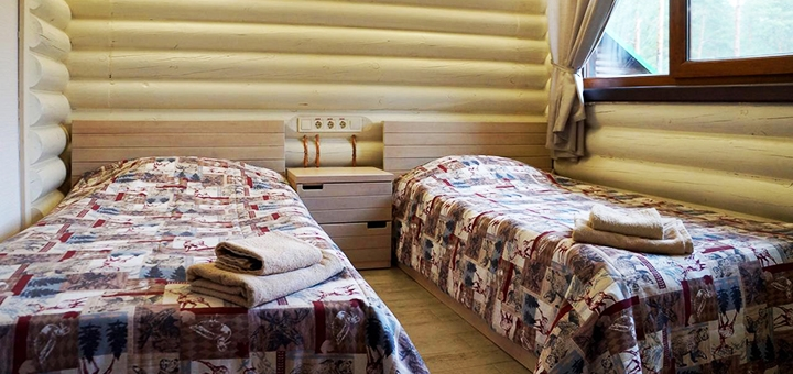 От 2 дней отдыха в будние дни с питанием в отельном комплексе «Залив» на берегу озера