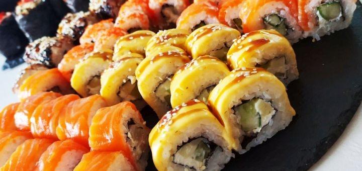 Cкидка 50% на суши-сет «Мечта Богов» от магазина-ресторана японской кухни «Japanika»
