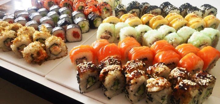 Скидка 50% на двухкилограммовый суши-сет «Mix» от магазина-ресторана японской кухни «Tokidon»