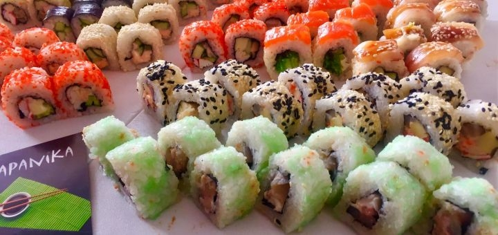 Cкидка 50% на суши-сет «Сезонный» от магазина-ресторана японской кухни «Tokidon»