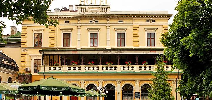 От 2 дней отдыха в отеле «Відень» в самом центре Львова