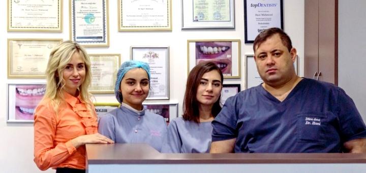 Лечение кариеса с установкой фотополимерных пломб в клинике «Diva Dent»