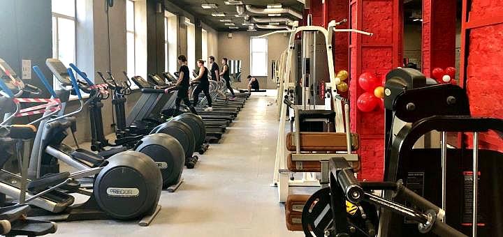 До 3 месяцев посещения тренажерного зала в спортивном клубе «GymFit» на Шулявке