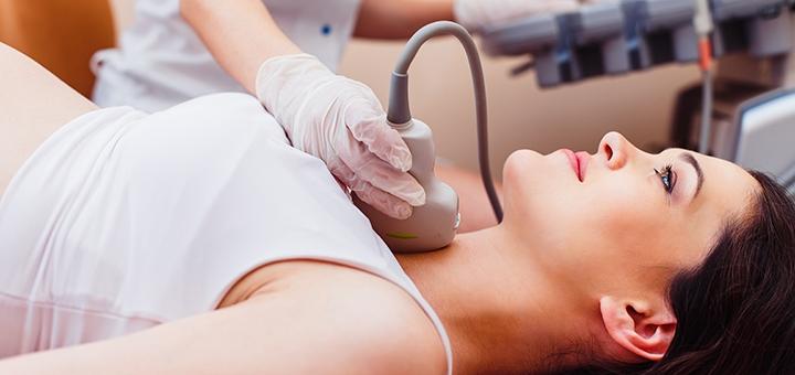 Обследование у эндокринолога с УЗИ щитовидной железы в гинекологической клинике «ЛЕДА»