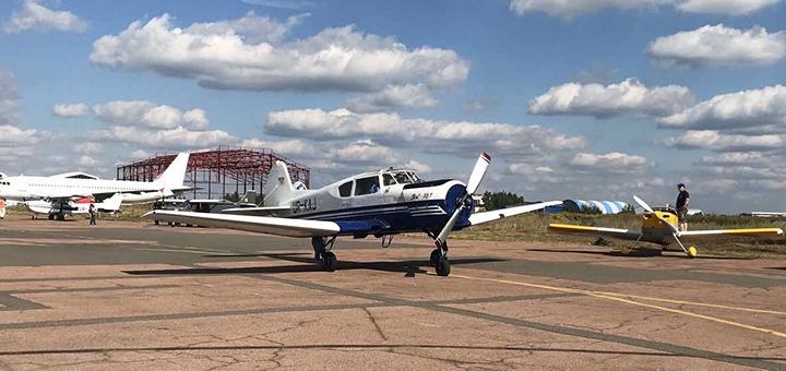 Скидка до 33% на полет на самолете «ЯК-52» и «ЯК-18» от школы пилотов «Аeropractica»