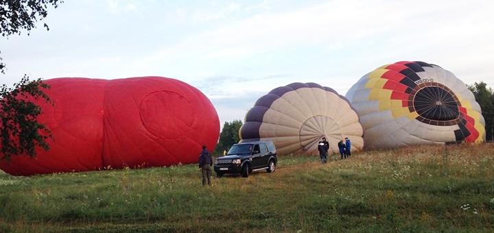 Скидка до 38% на полет на воздушном шаре над Добропарком от «Polyot»