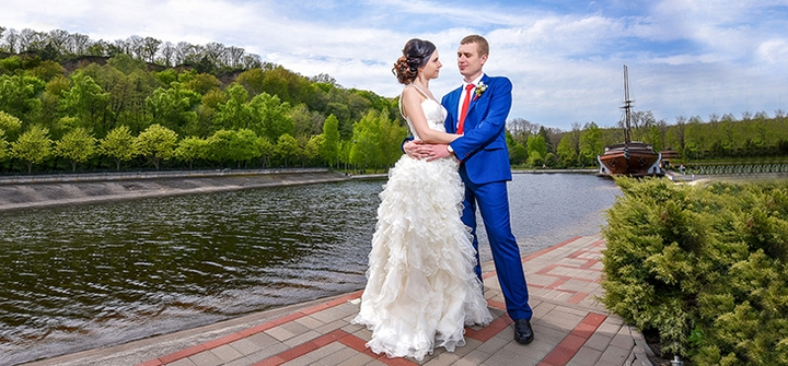 Свадебная фотосессия «Незабываемый день» от профессионального фотографа Игоря Радченко