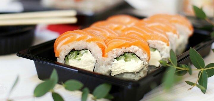 Скидка 50% на все суши, роллы и сеты на вынос и с доставкой в sushi place «Red Fish» на Глинки