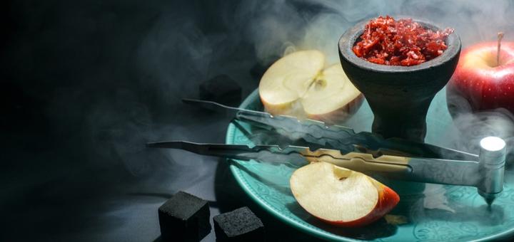 Фирменный кальян с чаем или лимонадом в кальян-баре «Portal»