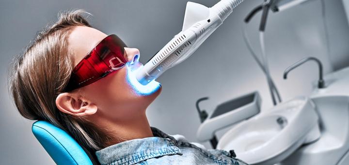 Скидка до 70% на отбеливание зубов «Magic Smile» с фторированием в клинике «Biodent»
