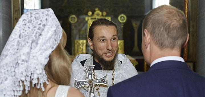 Выездная фотосессия «Венчание» от профессионального фотографа Максима Головко