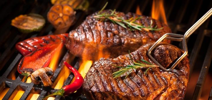 Скидка 50% на «Гриль сет» от службы доставки еды «Папа в мясо»