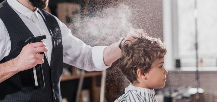 Детская стрижка в салоне красоты «OLLI»