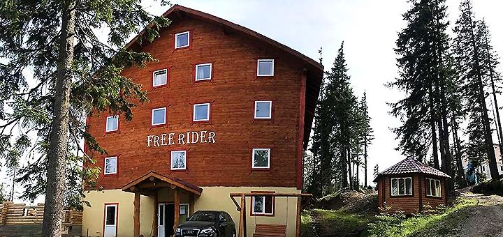 От 5 дней отдыха весной с двухразовым питанием в отеле «Freerider» в Драгобрате