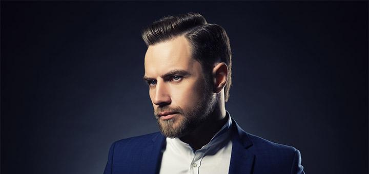Мужская стрижка и укладка волос и коррекция бороды от парикмахера-стилиста Ренаты