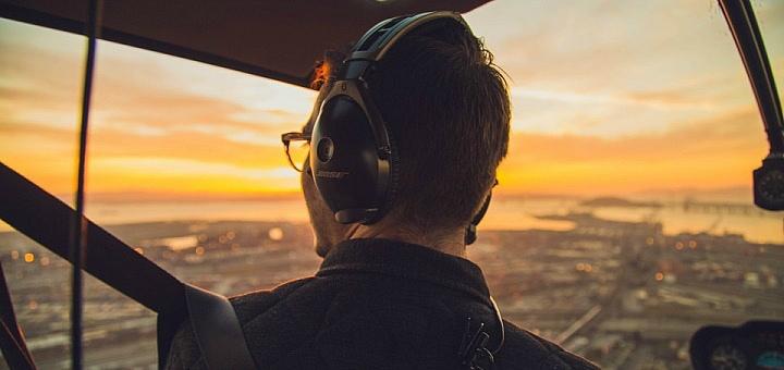 Скидка до 46% на обзорный полет на вертолете над Киевом или Межигорьем от «More Emotions»