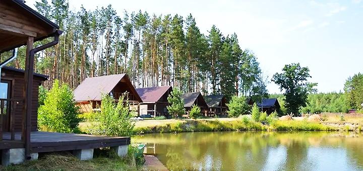 От 2 дней отдыха с рыбалкой в загородном комплексе «Пять озер» под Киевом