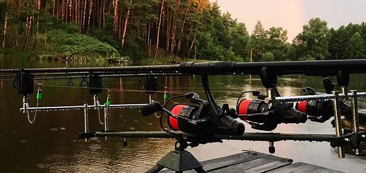 Спортивная рыбалка с арендой беседки и мангала на базе отдыха «Рыбацкая стрелка»