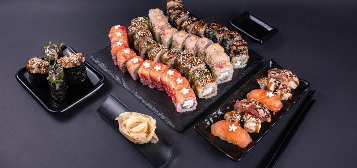 Cкидка 40% на сет «Император» от магазина-ресторана японской кухни «Tokidon»
