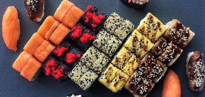 Скидка 50% на меню японской кухни с самовывозом или доставкой от «Sushi cosmo pizza»