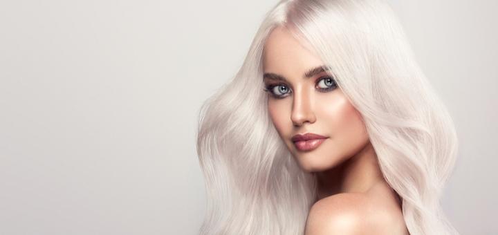 Дневной или вечерний макияж с укладкой волос в мастерской «Beauty saloon ptitsa feniks»