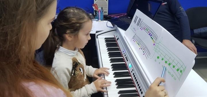 До 8 индивидуальных занятий игрой на фортепиано в творческой студии ««Star Music»»