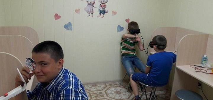 Первичная диагностика зрения ребенка в клинике детской офтальмологии «Child's vision»