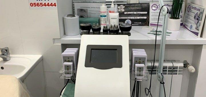 До 10 сеансов лазерного липолиза с вакуумным массажем и обертыванием от «Cosmetolog White»