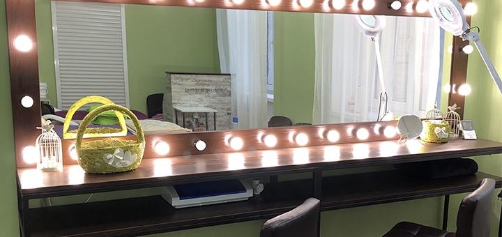 Перманентный макияж бровей от салона красоты «Natalie Lamimaker»