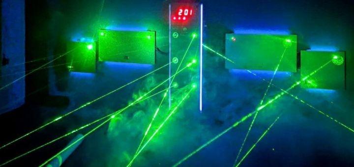 Скидка 50% на прохождение лазерного лабиринта от клуба активного отдыха «Динамит»