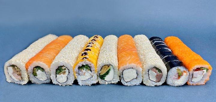 Скидка 50% на сет «Филадельфия XXX» от службы доставки «Изи суши»