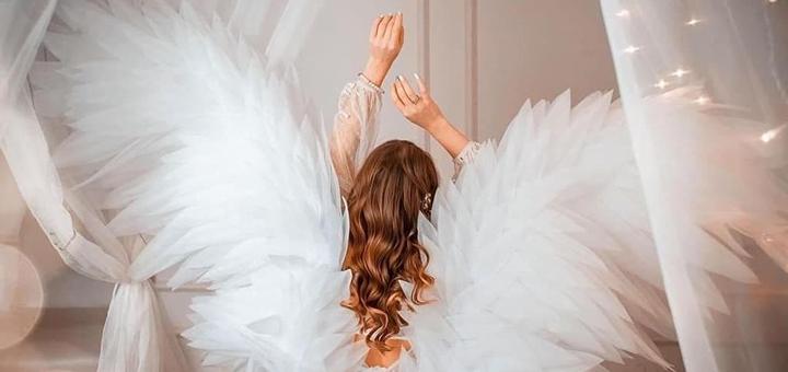 Фотосессия «Крылья ангела» от организации «Photo of Dream»