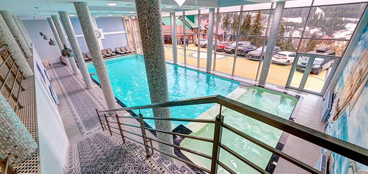 От 3 дней в начале марта с завтраками и SPA в отеле «Podgore Spa & Resort» в Буковеле