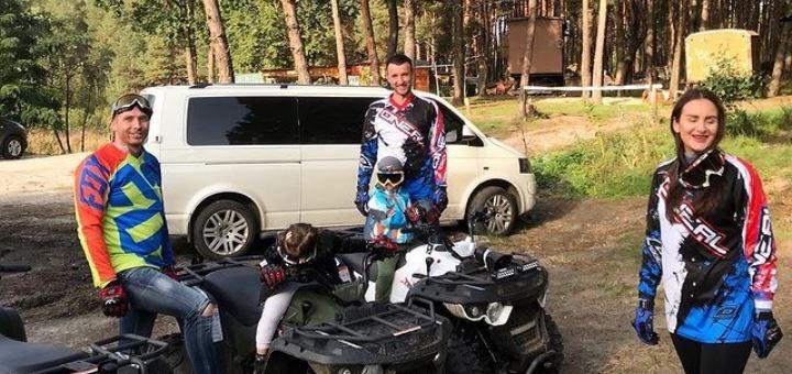До 2 часов проката квадроциклов от компании «Kvadro Kiev»
