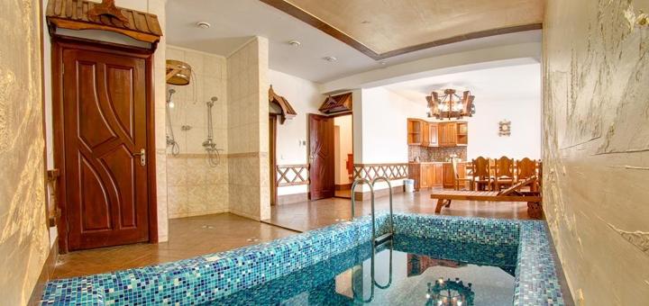От 3 дней отдыха с посещением бассейна в SPA-отеле «Вилла Елена» в Буковеле