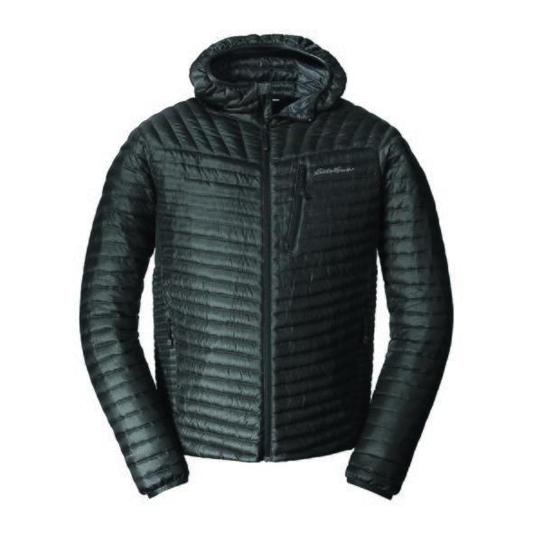 b1cc471f33a47 Куртка Eddie Bauer Mens MicroTherm StormDown Hooded L Черный (0856BK-L)
